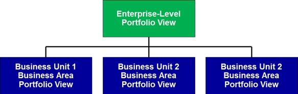 Business Area Structure for Enterprise-Level Project Portfolio Management